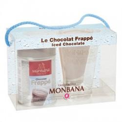 Le coffret chocolat frappé + verre monbana