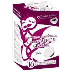 Capsules A modo mio compatibles-café Ginseng