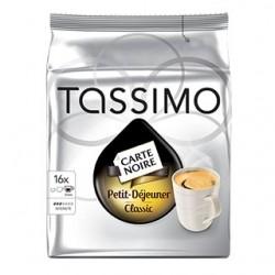 16 T-Discs Tassimo café petit déjeuner Classic