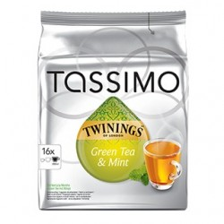 Dosettes Tassimo Thé vert à la menthe Twinings
