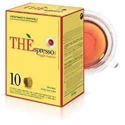 10 capsules Théspresso English Breakfast de la marque Vergnano compatibles Nespresso