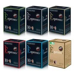 Pack Decouverte 60 Capsules Espresso pour Nespresso
