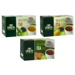 Pack Assortiment 60 Dosettes Souples thé pour Senseo