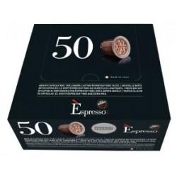 Boite de 50 Capsules Espresso Intenso Caffé Vergnano compatibles Nespresso