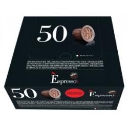 Boite de 50 Capsules Espresso Cremoso Caffé Vergnano compatibles Nespresso
