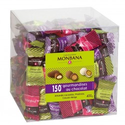 Maxi Box 150 Gourmandises au Chocolats assortiment Monbana