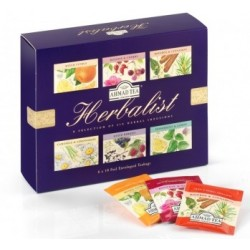 Coffret herbalist 60 Infusions Ahmad Tea