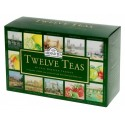 Coffret twelve teas 60 Thés Ahmad Tea