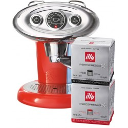 Illy X7.1 Iperespresso Rouge - 108 capsules offertes