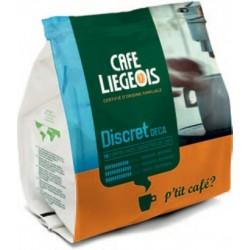 Café Dosettes Souples DISCRET déca x18 café liégeois pour Senseo