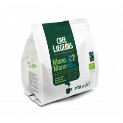 Café Dosettes Souples Mano Mano Bio x18 café liégeois pour Senseo