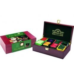 Coffret Bois Luxe 80 Thés Ahmad Tea