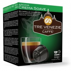 16 Capsules Dolce Gusto® compatibles Créma Soave
