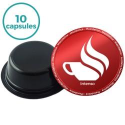 10 capsules intenso compatibles Lavazza a modo mio