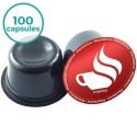 100 capsules Lavazza Blue Compatibles café Intenso Maxidelice