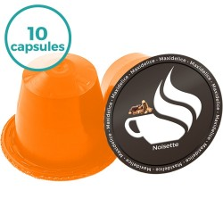 x10 capsules Noisettes compatibles Nespresso®