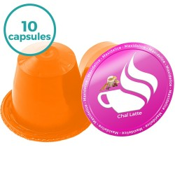 x10 capsules Chaî Latte compatibles Nespresso®