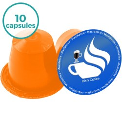 10 capsules compatibles Nespresso® Irish Coffee