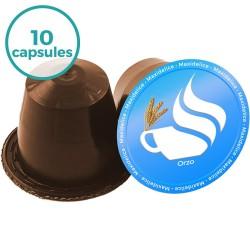 10 capsules Orzo compatibles Nespresso®