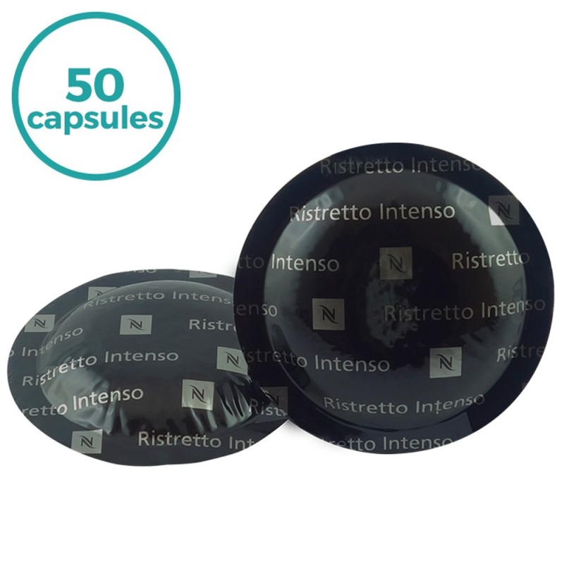50 x dosettes caf nespresso pro ristretto. Black Bedroom Furniture Sets. Home Design Ideas