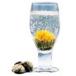 fleur de thé blanc flocons de neige