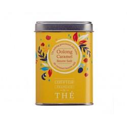 OOLONG CARAMEL Thé semi-fermenté Boite Métal 80g