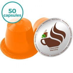 50 capsules Chocolat Menthe compatibles Nespresso®