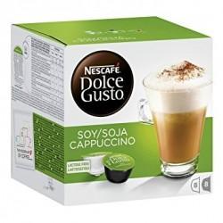 Dolce Gusto cappuccino soja sans lactose