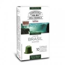 10 Capsules Brasil Compatibles Nespresso® Corsini
