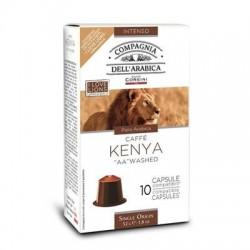 10 Capsules Kenya Compatibles Nespresso® Corsini