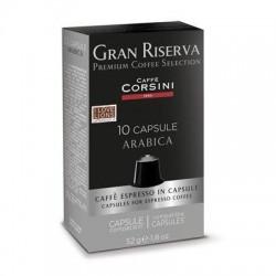 capsules compatibles nespresso corsini arabica