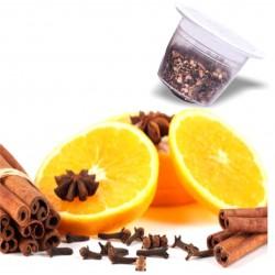 capsules nespresso compatibles tisane orange cannelle