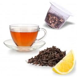 capsules nespresso compatibles thé noir citron