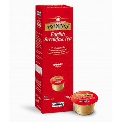 Caffitaly Thé english breakfast twinings  X10 Capsules