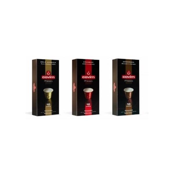Pack 90 Capsules Covim compatibles Nespresso®