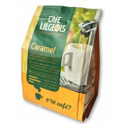 dosettes souples senseo café caramel