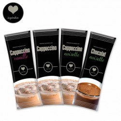 Pack 40 sticks Cappuccino et Chocolat inspiration Lavazza
