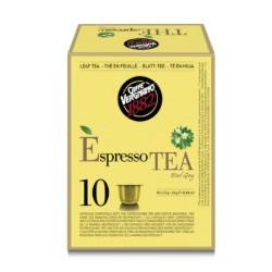 10 capsules Théspresso Earl Grey de la marque Vergnano compatibles Nespresso