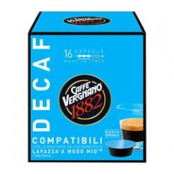 16 Capsules Café décaféiné Vergnano compatibles Lavazza a Modo Mio