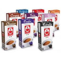 Pack decouverte 110 capsules bonini compatibles Nespresso®