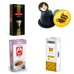 Pack découverte 80 capsules compatibles Nespresso® DOLCE - 100% Arabica