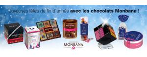 Noël : les chocolats Monbana sont là