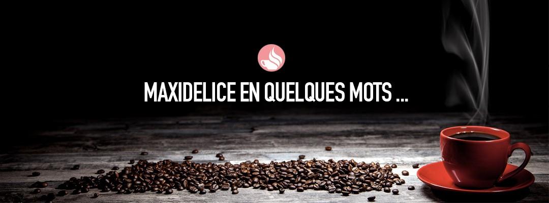 cafe maxidelice dosette compatible nespresso